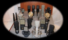 These are our Neuman, Sennheiser, AKG, Shure, Audio Technica, Cascade, Royer, Earthworks and Octava micsrophones.