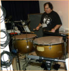 Typani Drums in Main Tracking Room for Glenna Burmer sessions